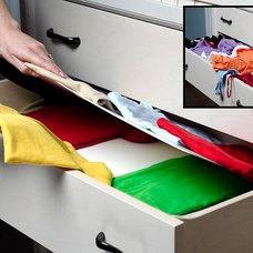 Closet Storage by Lift N Find™ Drawer and Luggage Dividers