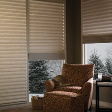 Traditional Roman Shades by Home Source Custom Draperies & Blinds