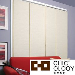 None - Chicology Cordless Panel System French Primrose - These window treatments provide softened light and moderate privacy from the outdoors. This panel system is perfect for large/small windows,glass doors,a room divider,wall decor,closet cover,bookshelf cover and more.