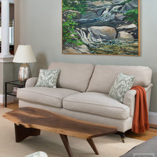 Traditional Living Room by Elza B. Design, Inc.