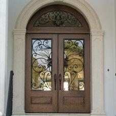 Mediterranean Front Doors by DOORS CRAFTER CO.