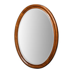 "Xylem Group - Carlton Mirror 25"" - Antique Maple - Carlton Mirror 25"" - Antique Maple"