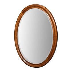 "Xylem Group - Carlton Mirror 25"" - Antique Maple - Carlton Mirror 25"" - Antique Maple"