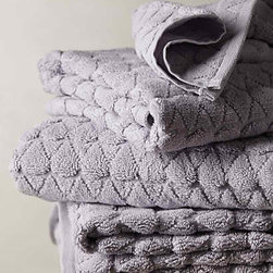 Anthropologie - Concord Towel, Lilac - Plush lilac towels — need I say more?