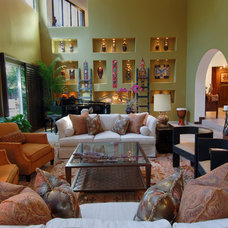 Living Room by Arch-Interiors Design Group, Inc.