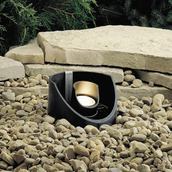 Kichler - Kichler No Family Association Outdoor Lighting Fixture - Shown in picture: In-Ground 1-Lt 12V in Textured Black