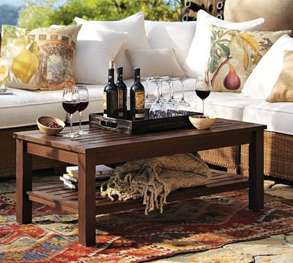 Traditional Outdoor Coffee Tables by Pottery Barn