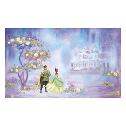 York Wallcoverings - Disney Princess Frog Giant Wall Paper Accent Mural - Features: