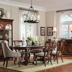 ART Furniture - Margaux Oval Dining Room Set - ART-166225-2630TP-2630BS-ROOM - Margaux Collection Dining Room Set