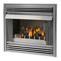 Napoleon 36 in. Outdoor Gas Fireplace Insert - Create a warm and inviting environment in your outdoor entertainment area with the Napoleon 36 in. Outdoor Gas Fireplace Insert. This fireplace insert uses your choice of either liquid propane or natural gas and offers up to 40,000 BTUs of heat. It's crafted from stainless steel and requires no venting, so it can be placed anywhere. Features include a Piezo igniter, PHAZER glowing log set, steel safety screen, and optional remote control. A brushed finish provides a stylish look. Note: Review any building restrictions or construction permit requirements before installation of an outdoor fireplace. Contact your local zoning commission/homeowners association for details. A licensed contractor should be contacted for installation of all products involving gas lines.About NapoleonNapoleon got its start in 1976 as a steel fabrication business launched by Wolfgang Schroeter in Barrie, Ontario, Canada. His original stove was a solid cast iron two-door design that was produced in a 100 sq. ft. manufacturing facility. By 1981 the name Napoleon was born along with the first single glass door with Pyroceram high temperature ceramic glass in the industry. This glass door was the first of many milestones for the company and the demand for Napoleon's wood stoves grew over the next few years beyond Ontario's borders to the rest of Canada and into the United States. Over the years Napoleon has led the way with innovative engineering and design. They are now North America's largest privately owned manufacturer of quality wood and gas fireplaces, gourmet gas and charcoal grills, outdoor living products, and heating and cooling products. Napolean is committed to producing high quality products with honest, reliable service. This approach has proven to be a successful framework to ensuring the continued rapid growth of the company.
