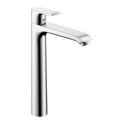 Hansgrohe - Hansgrohe Metris 260 Single Hole Faucet HighRiser, Chrome (31082001) - Hansgrohe 31082001 Metris 260 Single Hole Faucet HighRiser in Chrome