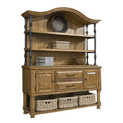 Panama Jack Coronado Sideboard with Hutch
