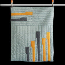 Contemporary Quilts And Quilt Sets by Etsy
