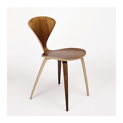 Cherner Side Chair | Smart Furniture - The 1958 molded plywood side chair is the companion to the classic Cherner arm chair. The perfect dining chair, it is built to be handed down from generation to generation. The seat is made of laminated plywood of graduated thickness, from 15 plys to 5 plys at the thin edge of the shell. Reissued in exacting detail from the original drawings and molds, the side chair is strong and lightweight.