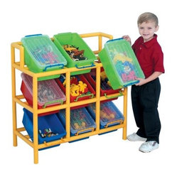 Children's Factory Tilt Bin Storage