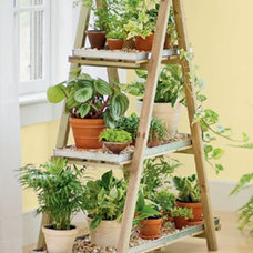 Contemporary Plant Stands And Telephone Tables by Gardener's Supply Company