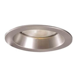 Halo - Halo 3 in. Satin Nickel Shower Trim with Regressed Lens 3007SN - Shop for Lighting & Fans at The Home Depot. This 3 in. trim adds drama to any lighting installation and can be used to either compliment your kitchen and/or bath accessories or to add a decorative touch on its own. It is wet location listed for use in Showers. It adds a touch of luster and sparkle to your lighting project with its metallic finish. Trim is inset into the fixture as opposed to flush mount which allows it to be hidden and to reduce the glare.