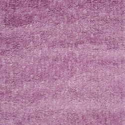 "Loloi Rugs - Loloi Rugs Hera Shag Collection - Orchid, 5'-0"" x 7'-6"" - The Hera Shag Collection offers a fun, innovative take on the classic shag rug. Its interesting strand-like texture and striking colors are the perfect update to the shag category. Customers can choose from a selection of mixed tonal shades from warm to cool."