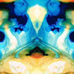 The Looking Glass Series - Enlightenment - Abstract Art By Sharon Cummings