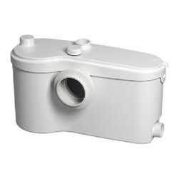 Saniflo - Saniflo 013-PRO SANIBEST PRO GRINDER PUMP ONLY White - Saniflo Sanibest Pro Grinder Pump OnlyRecommended for intensive use - With introduces a new sophisticated heavy - duty system that stretches the limits of bathroom installation. Sanibest Pro makes it possible to install bathroom appliances or a complete bathroom in a location where previously it would have been impossible - up to 18 feet below the sewer line or up to 150 feet away from a soil stack. In addition to toilet waste, Sanibest Pro is the only point - of - use grinder pump on the market. Recommended for rental units and situations where flushing sanitary articles might become a concern.