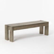 Traditional Dining Benches by West Elm