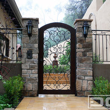 Mediterranean Front Doors by Dynamic Garage Door