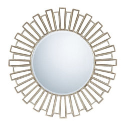 Quoizel - Quoizel Gwyneth Wall Mirror 39.5D in. - QR983 - Shop for Mirrors from Hayneedle.com! About Quoizel LightingLocated in Charleston South Carolina Quoizel Lighting has been designing timeless lighting fixtures and home accessories since 1930. They offer a distinctive line of over 1 000 styles including chandeliers lamps and hanging pendants. Quoizel Lighting is the perfect way to add an inviting atmosphere to any area in your home both indoors and out.