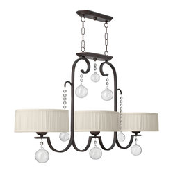 Fredrick Ramond Prosecco Island 3-Light Chandelier