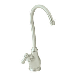 Moen - Moen 85800CSL AquaSuite Series Single-Handle Kitchen Faucet (Stainless Steel) - The Moen 85800CSL is a AquaSuite style single-lever-handle high-arc kitchen faucet that comes in a bright, stainless steel finish, making it an elegant addition to any single-hole mount kitchen sink. The all metal construction gives it long-lasting durability. This faucet comes with a lifetime limited warranty against leaks, drips, and finish defects to the original consumer purchaser, and a 5-year warranty if used in a commercial installations.