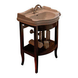 WS Bath Collections Retro Bathroom Vanity with One Faucet Hole