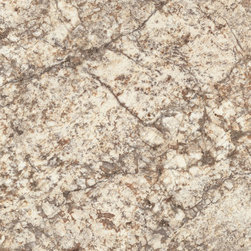 Bianco Romano Mirage Finish with Aeon™ - The creamy whites with sienna accents enhanced by warm grey veining makes this granite versatile for kitchen or bathroom designs. Like all Wilsonart® HD® surfaces, it features AEON™ Enhanced Performance Technology for superior performance resisting stains and scratches.