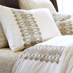modern duvet covers by Pottery Barn