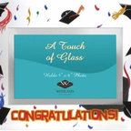 WL - Graduation and Confetti Design Glass Photo Frame with Congrats Caption - This gorgeous Graduation and Confetti Design Glass Photo Frame with Congrats Caption has the finest details and highest quality you will find anywhere! Graduation and Confetti Design Glass Photo Frame with Congrats Caption is truly remarkable.