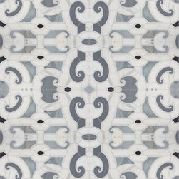 Michael S Smith Cosmati Stone Mosaic Tile - Ann Sacks Tile & Stone - Ridiculously beautiful stone mosaic tiles from Michael S. Smith for Ann Sacks Tile. It's hard to choose a favorite - thankfully I'm just window shopping and don't have to.