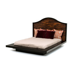 Reclaimed Wood Platform Bed - Woodland Creek offers a large selection of reclaimed wood platform beds.  All designs are available in custom sizes.  Visit our web site to see many more unique designs.