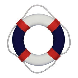 "Handcrafted Nautical Decor - Decorative American Lifering Mirror 15"" - Life Saving Ring - This Decorative American Lifering Mirror 15"" will compliment any beach living room perfectly. Combining patriotic colors of red, white and blue, this hand-stitched nautical lifering holds a mirror in the center which will assist you in lighting up your beach home, beach wedding decorations or beach themed party. Our Life ring decor actions are the perfect choice for any beach setting. We offer over 100 unique decorative life rings sized and priced for everyone's beach wall decor needs. Life ring decor is available in various sizes and styles such as lifering clocks, lifering mirrors, antique life preserver rings and of course the classic traditional decorative life rings, ranging in sizes from 6 to 30 inches."