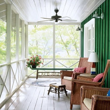 Contemporary Porch by Barn Light Electric Company