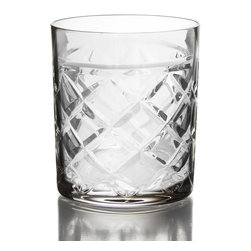 Jay Import Co. - Fitz & Floyd Tufted Crystal Set of 4 Old Fashion Glasses - Give a toast with these beautiful Tufted Set of 4 Old Fashion Glasses from Fitz & Floyd. These beautiful Glasses are the perfect way to toast, drink and enjoy.