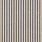 Close to Custom Linens - Tailored Valance Ticking Stripe Indigo Blue - From cheerful to formal, this ticking stripe valance adds the perfect accent to your room. The charming, traditional pattern creates an intimate feel — and showcases the hallmark of cottage style.