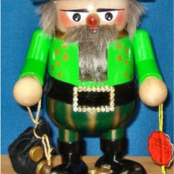 Steinbach - 2012 Steinbach Signed Gnome Irishman German Christmas Nutcracker Multicolor - NW - Shop for Holiday Ornaments and Decor from Hayneedle.com! Maybe the luck of the Irish will spur Santa to bring you more loot this year when you have the 2012 Steinbach Signed Gnome Irishman German Christmas Nutcracker setting next to his cookies and milk. This wonderfully green gnome nutcracker was handcrafted in Germany and is approximately 11.7 inches tall. Featuring such delicate details as tiny gold coins and gold buckles the Irishman nutcracker is hand-signed by Karla Steinbach and makes a perfect gift for the Irishman in your life.About SteinbachSteinbach is recognized for the unique design of its wood-carved creations developed many years ago by Herr Christian Steinbach. The Steinbach family started making nutcrackers and other items in the 1800s in the Alpine regions of Germany. The tradition of creating hand-carved Steinbach German Nutcrackers is carried on by the Steinbach family which remains responsible for the product concept development design manufacture and quality control at the Hohenhameln factory in the northern region of Germany.Steinbach items are highly collectible. If you are starting a new collection or adding to your existing collection you will love these unique masterpieces. These treasured collectibles are handed down from generation to generation.The Making of Steinbach NutcrackersEach Steinbach nutcracker is produced using up to 130 separate procedures. Genuine hardwood is cut and shaped into specific sizes and parts. The wood is then turned by hand using an ancient process that makes smooth clean surfaces. The pieces are lathed polished and drilled before they are turned over to experienced craftsmen who prime and spray them repeatedly alternating the process with drying to produce an even tone. Carving comes next; wood-carving artisans use knives and finely honed skill to add personality and detail to the pieces. Finally the painters take ove