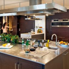 Contemporary Kitchen by Muratore Construction + Design