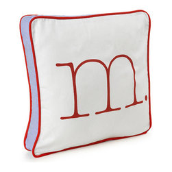 Serena & Lily - On Sale Serena & Lily Red Letter Pillow - Letter S - Quick Ship Serena Lily Red Letter Pillow Letter S