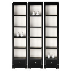 contemporary bookcases cabinets and computer armoires by Candelabra