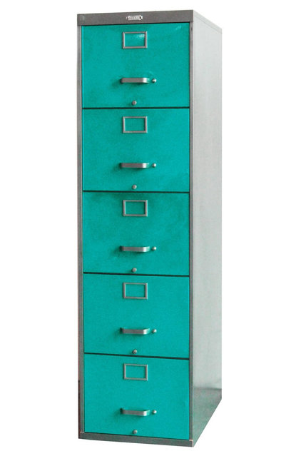 Eclectic Filing Cabinets And Carts by Twenty Gauge
