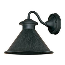 Dark Sky Essen Outdoor Sconce - We have this charming little light by the back doors that lead into our garage.