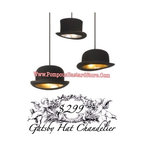 Great Gatsby TopHat Chandelier by Obscurious™ - Great Gatsby TopHat Chandelier by Obscurious™