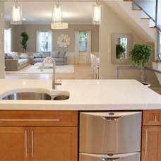 Modern  by Serret Construction and Design