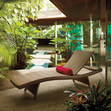 Contemporary Outdoor Chaise Lounges by FRONTGATE
