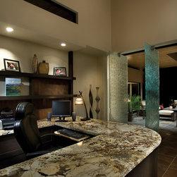 Private Residence 15 - Glass Description: