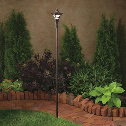 Kichler Lighting - Kichler Lighting 15421AGZ Cotswold 1 Light Pathway Lighting in Aged Bronze - This 1 light Landscape 12V Path & Spread from the Cotswold collection by Kichler will enhance your home with a perfect mix of form and function. The features include a Aged Bronze finish applied by experts. This item qualifies for free shipping!